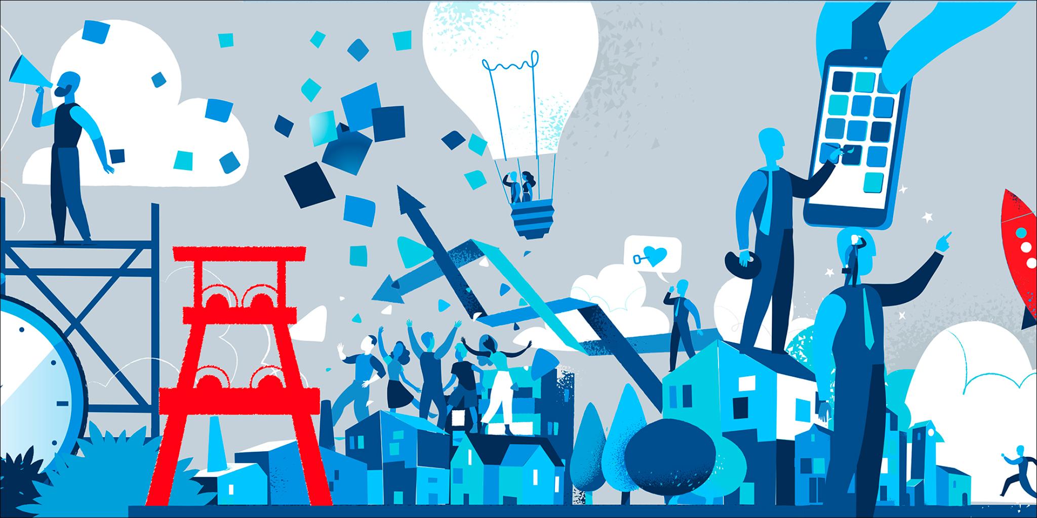 Daten, Digitalisierung, ETL WP, Livestream, Zollverein: Digital Cowork I 120 h: Neue Wege der Digitalisierung gehen